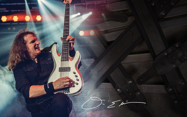 Gruv Gear Debuts Signature Strap With Megadeth Bassist David Ellefson