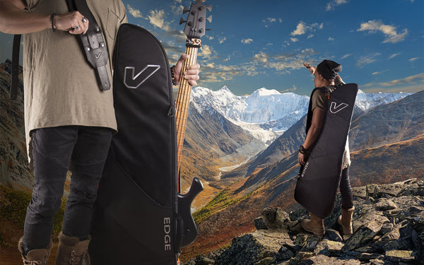 Gruv Gear Introduces New GigBlade Edge Side-Carry Guitar Bag