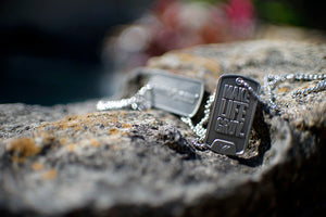 """Make Life Gruv"" Premium Dog Tag"
