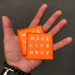 """Make Life Gruv"" Patches (2-Pack)"