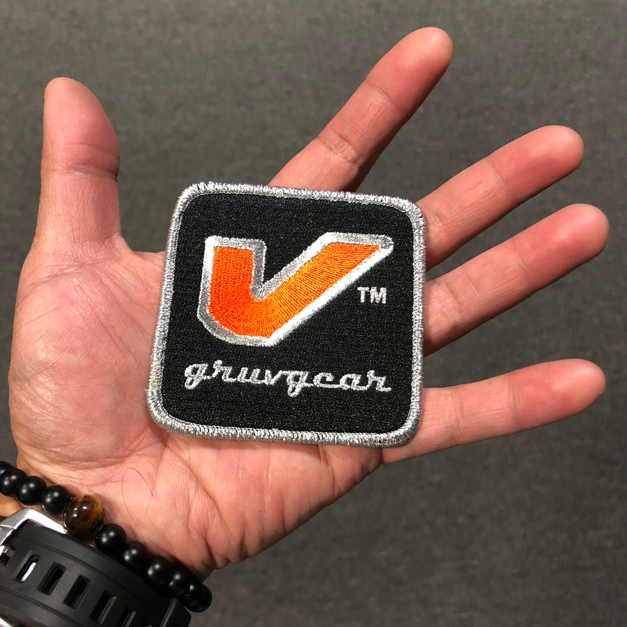 """V"" Logo Automobilia Patches (2-Pack)"
