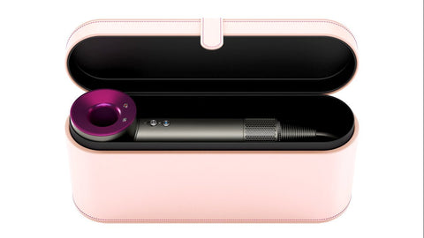 Dyson Supersonic Hair Dryer With Leather Storage Box (Pink)