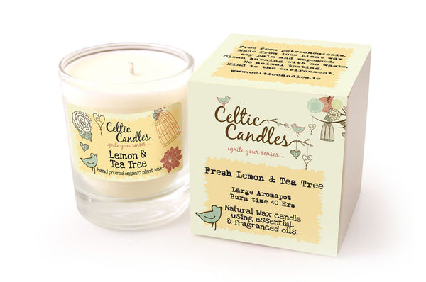 Lemon and Tea Tree Large Candle