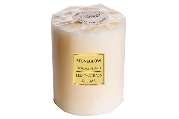 Lemongrass & Lime Pillar Candle