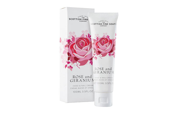 Rose and Geranium Hand and Nail Cream