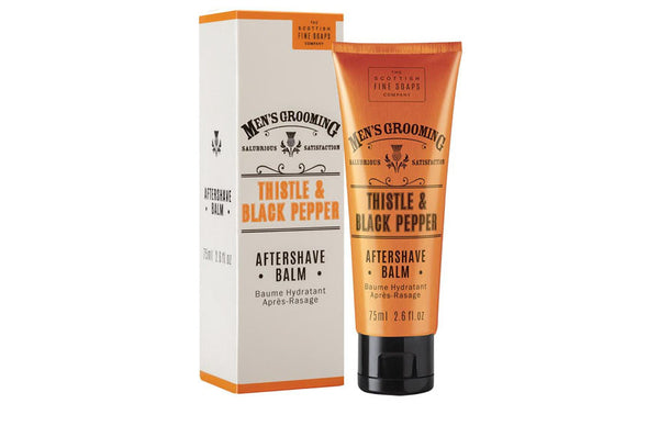 Men's Thistle and Black Pepper Aftershave Balm