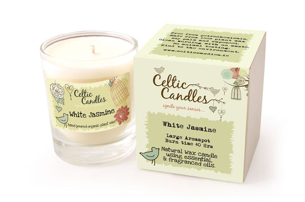 White Jasmine Large Scented Candle