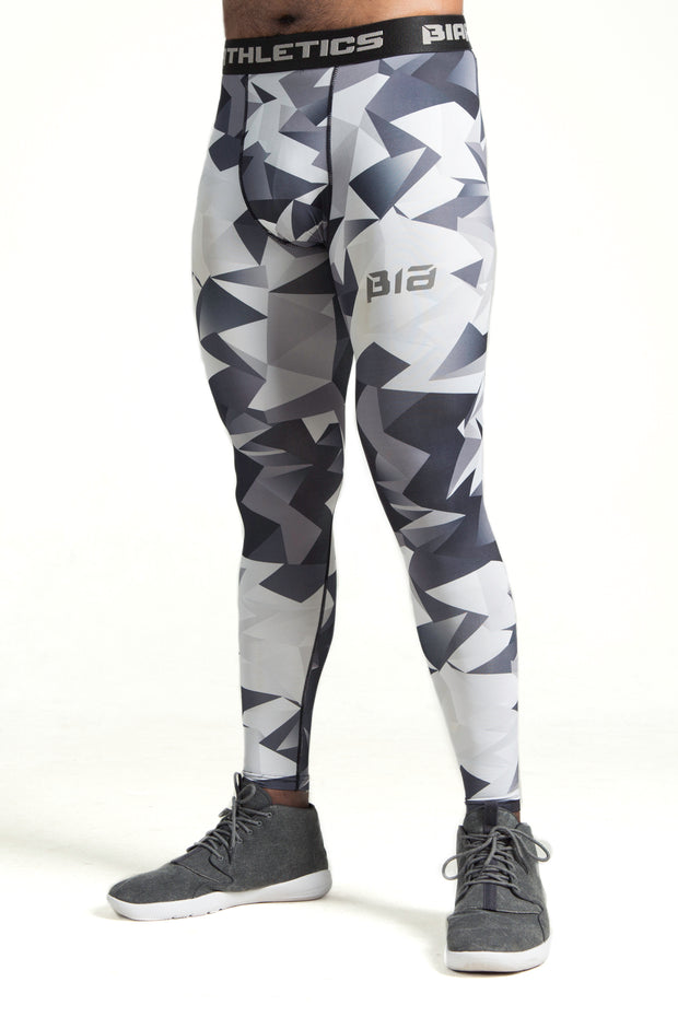 AthFit Compressive Leggings - Grey Prism
