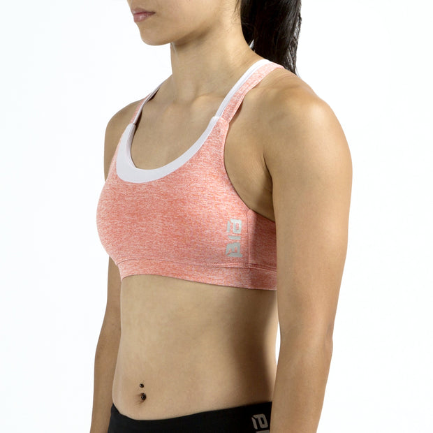 BIA X-Back Sports Bra - Peach-Pink