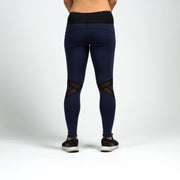 BIA X-Mesh Leggings - Navy Blue