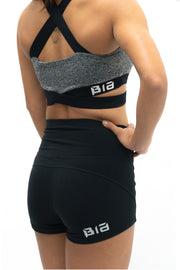 BIA High Waisted Shorts - Black