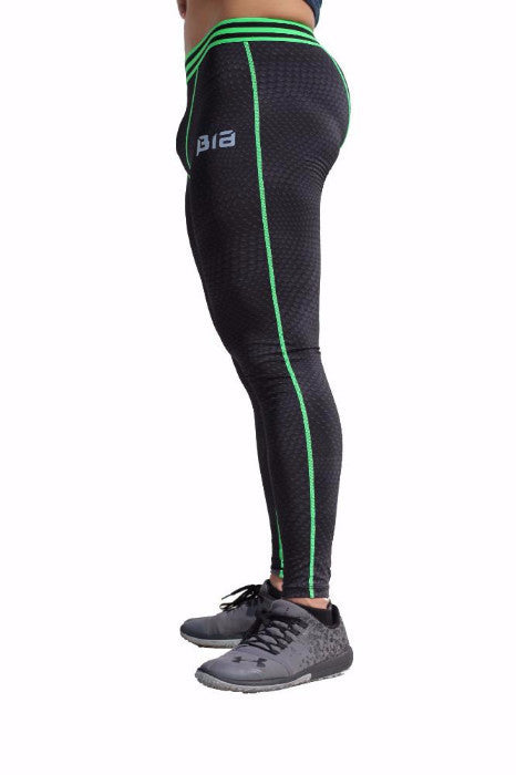 AthFit Leggings - Scaled Matrix