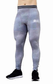 AthFit Leggings - Scaled Grey