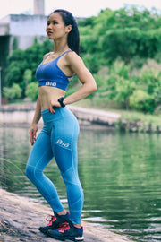 BIA AdaptFit Leggings - Heather Blue