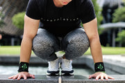 BIA Performance Strength Wraps - 忍 X 力 (Black/Green)