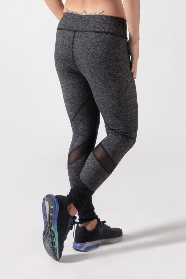 BIA Meshed AdaptFit Legginggs - Dark Grey