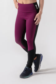 BIA V2 High Waisted Leggings - Black Purple