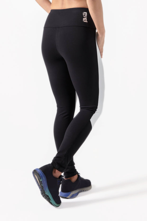 BIA V2 High Waisted Leggings - Black White