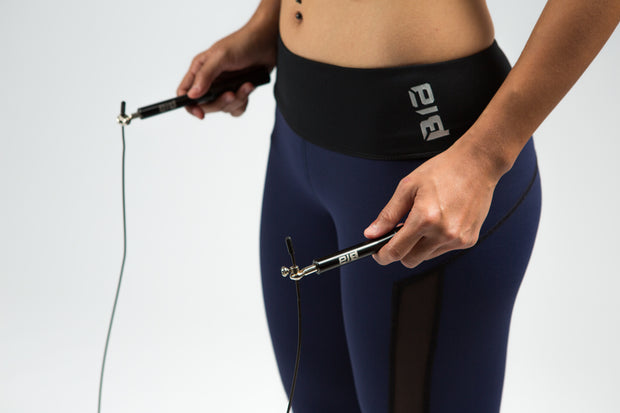 BIA Athletic Speed Rope - Black
