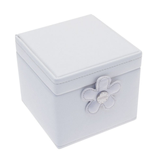 Flower Ivory & Polka Dot Jewellery Box