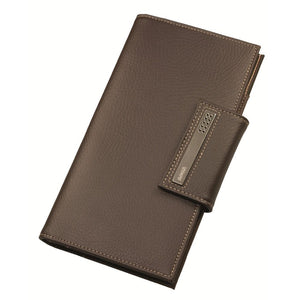Dulwich Designs Brown Leather Travel Wallet