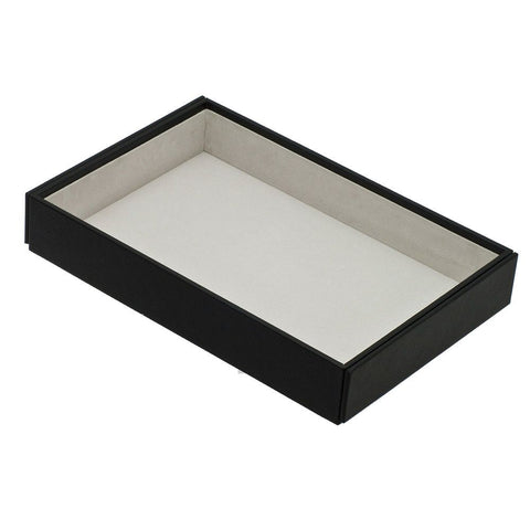 Davidts Black Deep Open Stacking Jewellery Tray