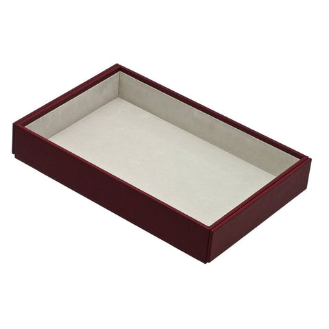 Davidts Red Deep Open Stacking Jewellery Tray
