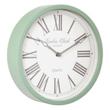 London Clock 1922 30cm Heritage Alice Sage Green Wall Clock