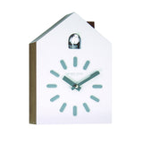London Clock Co 26cm White Cuckoo Pendulum Wall Clock