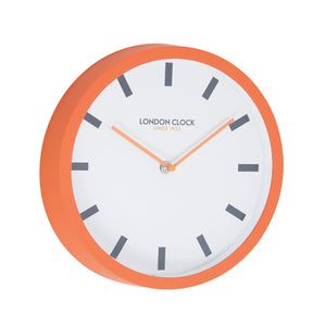London Clock 1922  London Pop Pop Orange Wall Clock