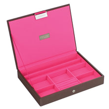 Stackers Chocolate & Brights Classic Lidded Jewellery Tray