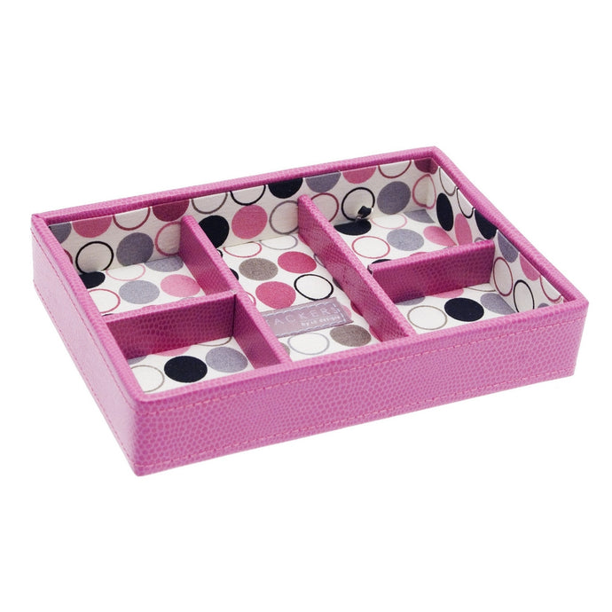 Stackers Mini Pink Spotty Stacker Jewellery Tray