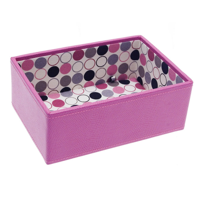 Stackers Mini Pink Spotty Stacker Jewellery Tray -Deep