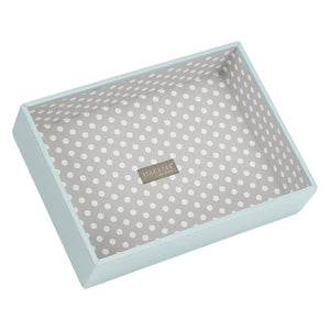 Stackers Duck Egg & Grey Classic Deep Open Jewellery Tray