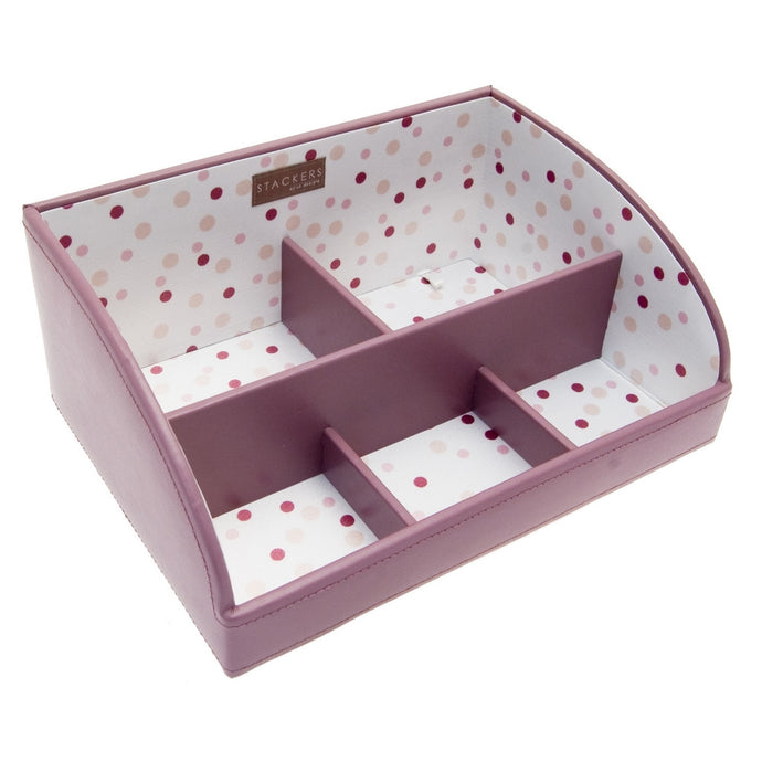 Stackers Medium High Sided Pink Stacker Jewellery Tray