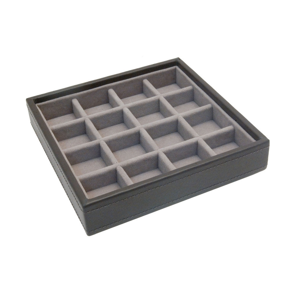 Stackers Mink Charm Stacker Jewellery Tray-Small Sections
