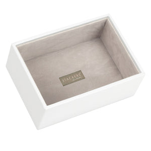 Stackers White & Grey Mini Deep Open Jewellery Tray