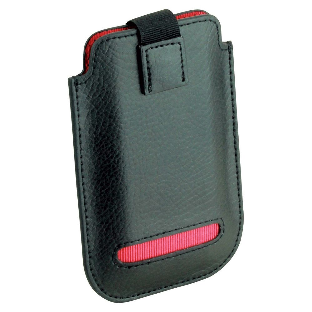 Dulwich Designs Leather Eclipse iPhone 4/4S Pouch Case Red