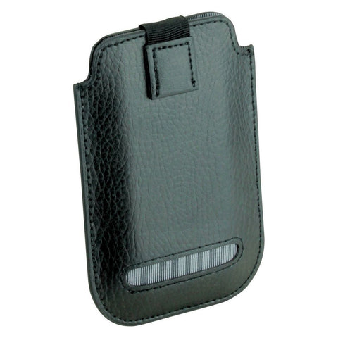 Dulwich Designs Leather Eclipse iPhone 4/4S Pouch Case Grey
