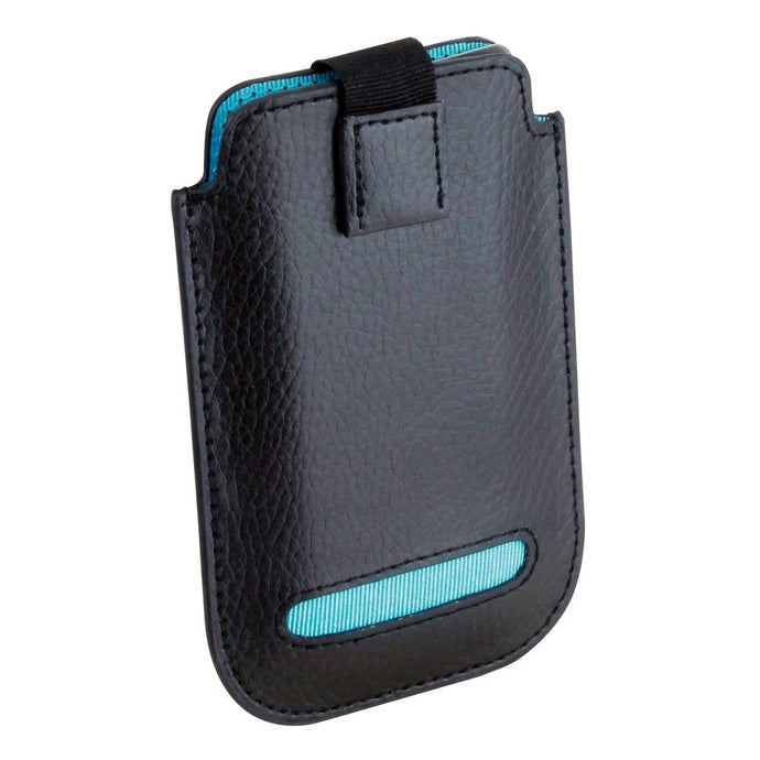 Dulwich Designs Leather Eclipse iPhone 4/4S Pouch Case Turquoise