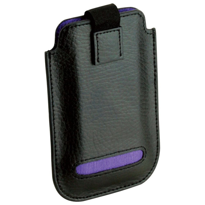 Dulwich Designs Leather Eclipse iPhone 4/4S Pouch Case Purple