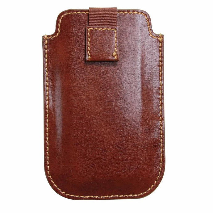 Dulwich Designs Leather Heritage Chestnut iPhone 4/4S Case