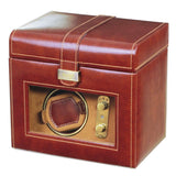 Dulwich Designs Leather Heritage Chestnut Single Watch Winder