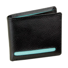 Dulwich Designs Leather Eclipse Wallet Turquoise
