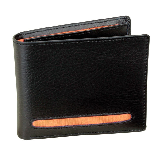 Dulwich Designs Leather Eclipse Wallet Orange