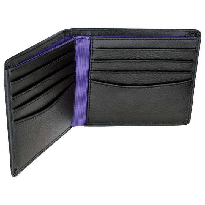 Dulwich Designs Leather Eclipse Wallet Purple