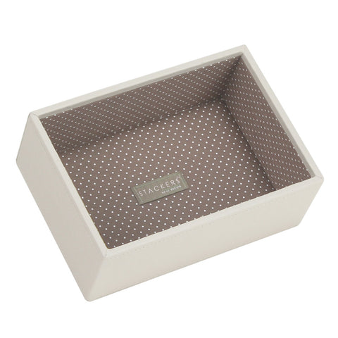 Stackers Vanilla & Mocha Mini Deep Open Jewellery Tray