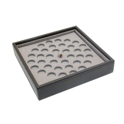 Stackers Mink Charm Stacker Jewellery Tray-Bead Sections