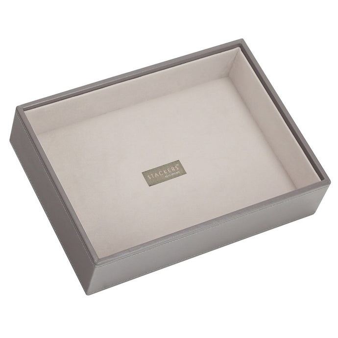 Stackers Mink & Grey Classic Deep Open Jewellery Tray