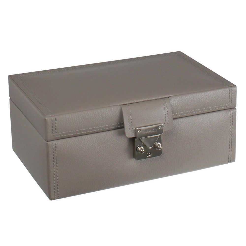Dulwich Designs Leather Mink Jewellery Box